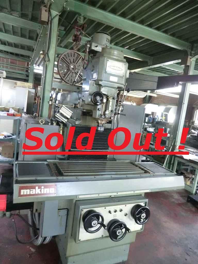 MAKINO CNC MILLING MACHINE