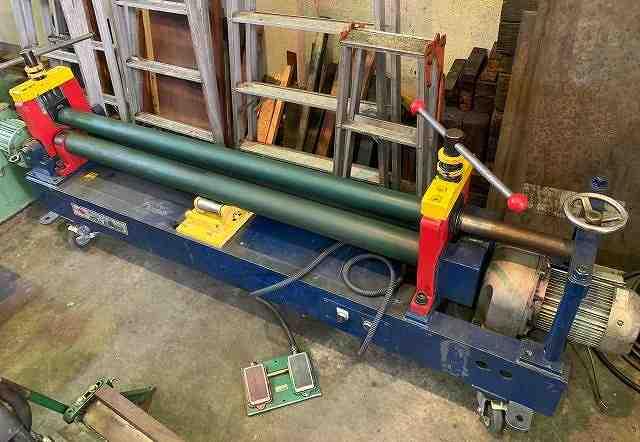 3 Roll bender 1.5m